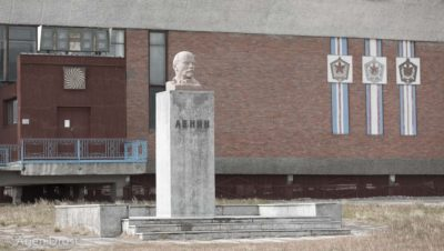World's northernmost Lenin, Pyramiden