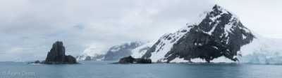 Point Wild, Elephant Island - the place where Frank Wild and his crew spent five months, waiting for Shackleton to return and pick them up