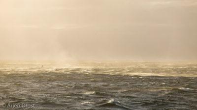 Storm near Gough Island